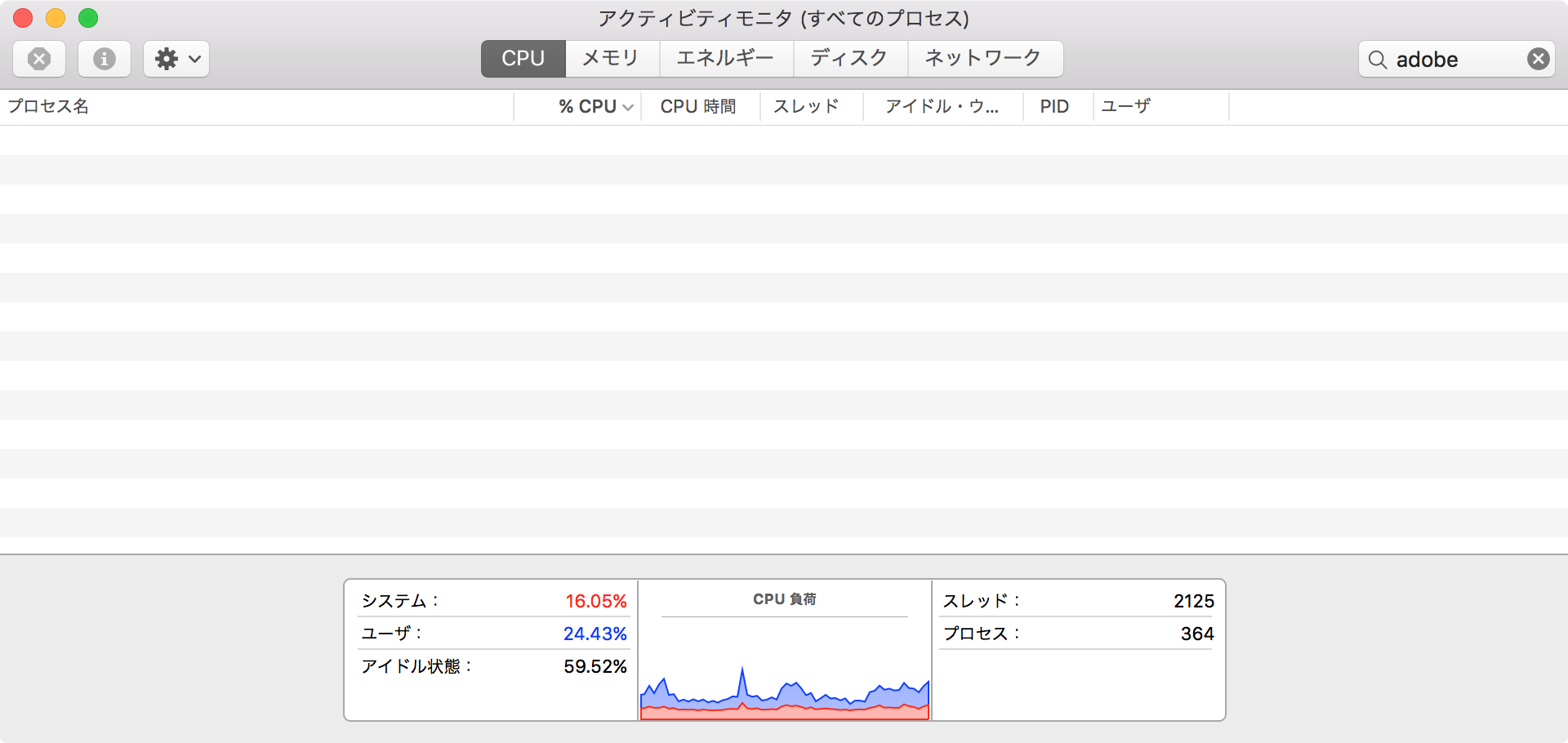 Application Managerを終了